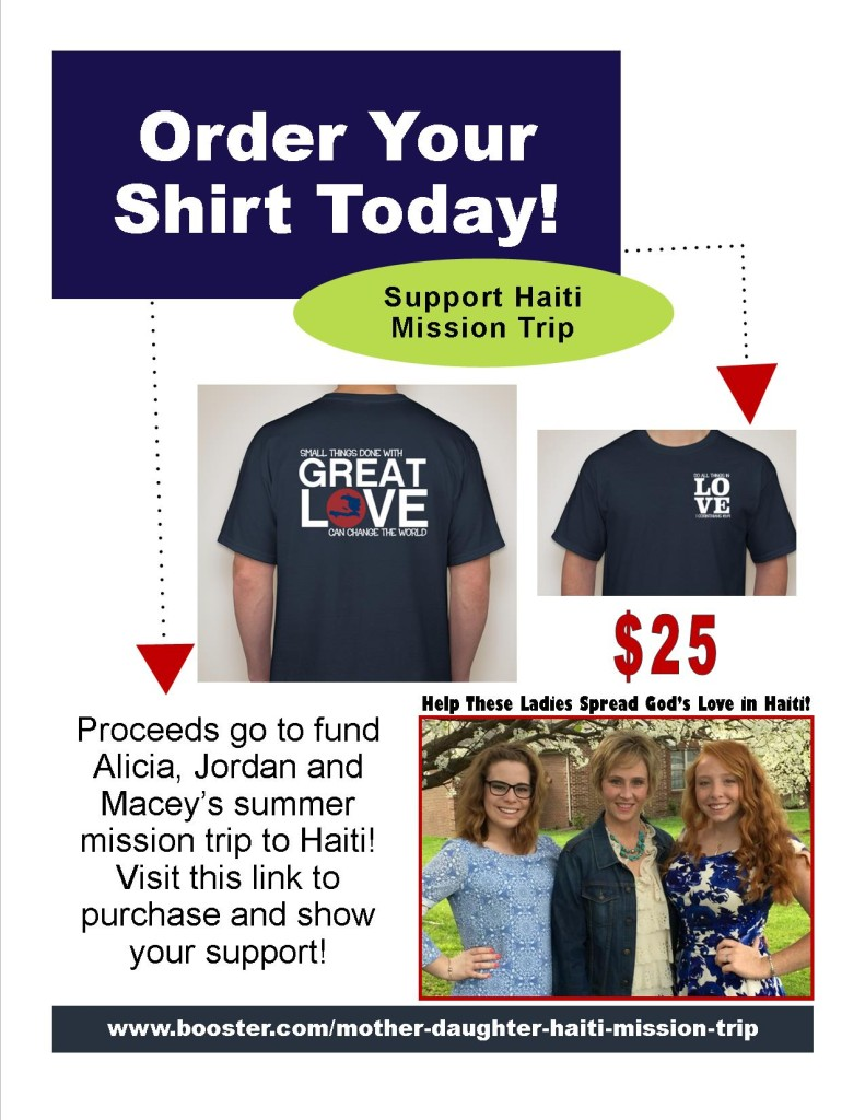 Haiti Shirt Flyer