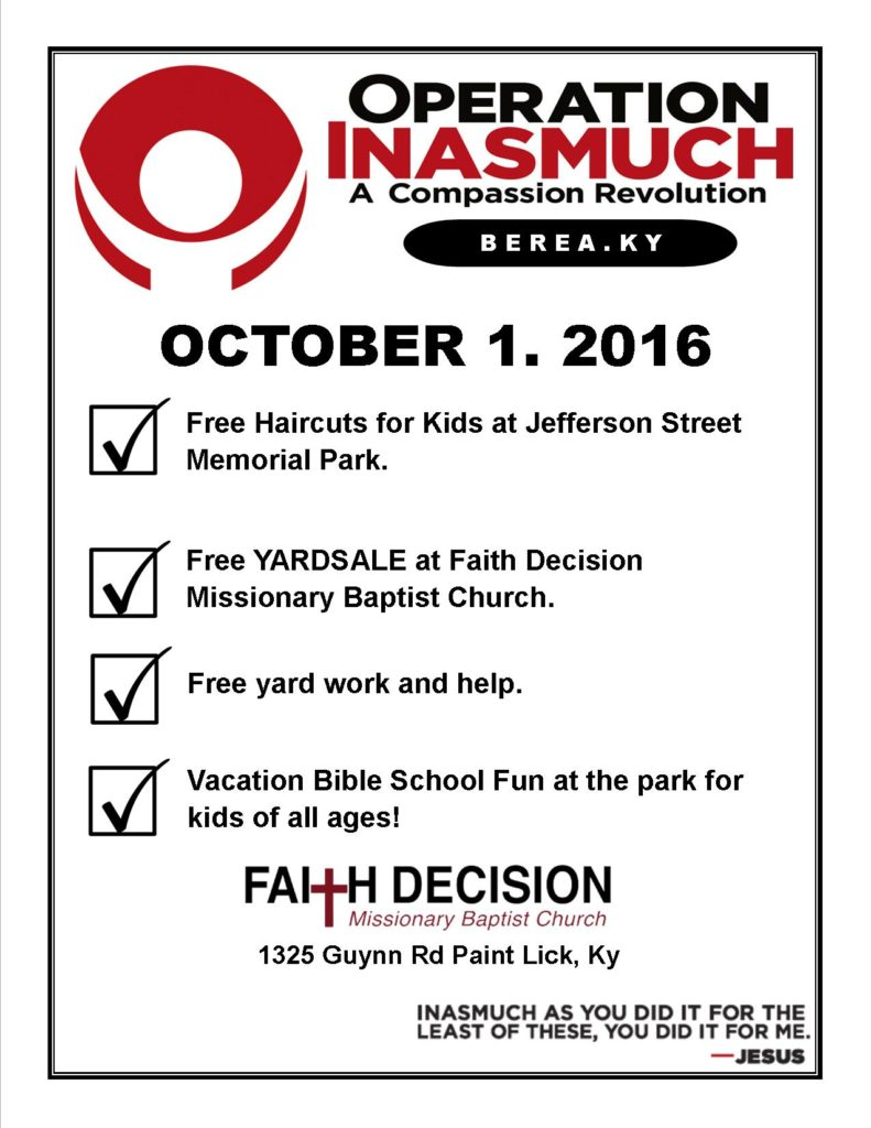 inasmuch poster